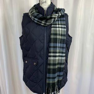 Women's Navy Blue Vest NWT by Talbots